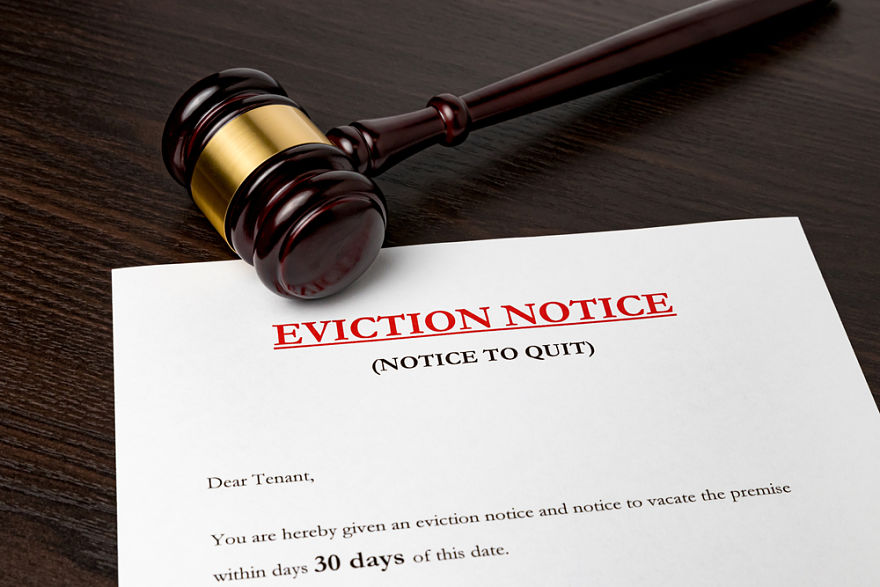 The Eviction Process in 5 Steps